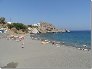 Hotellet och stranden